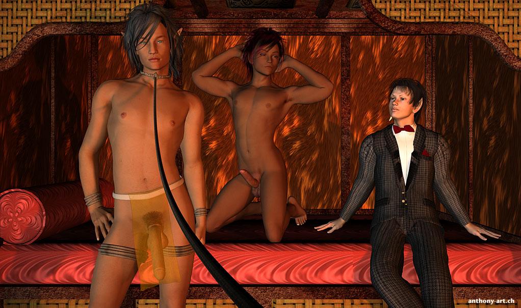 3D Gay Anthony Art